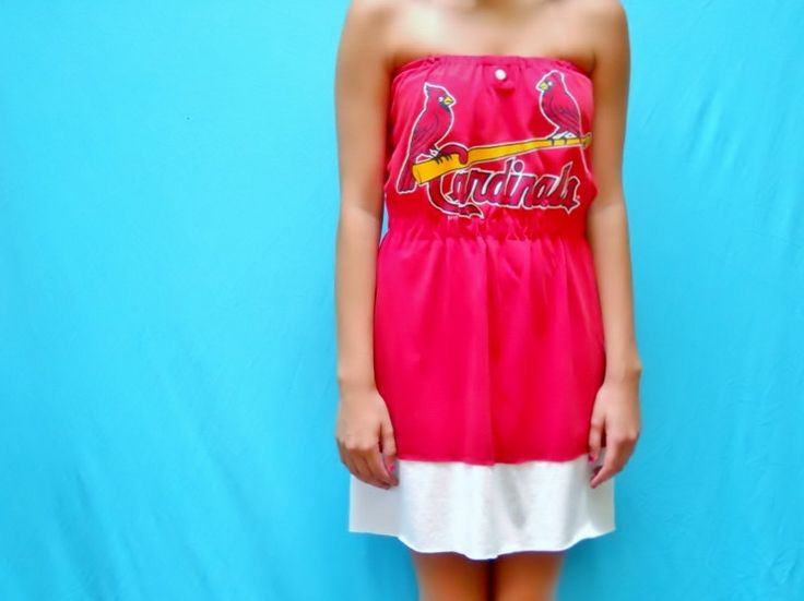 st louis cardinals dress   St. Louis Cardinals Game Day Dress by LoveMyGameDress on Etsy