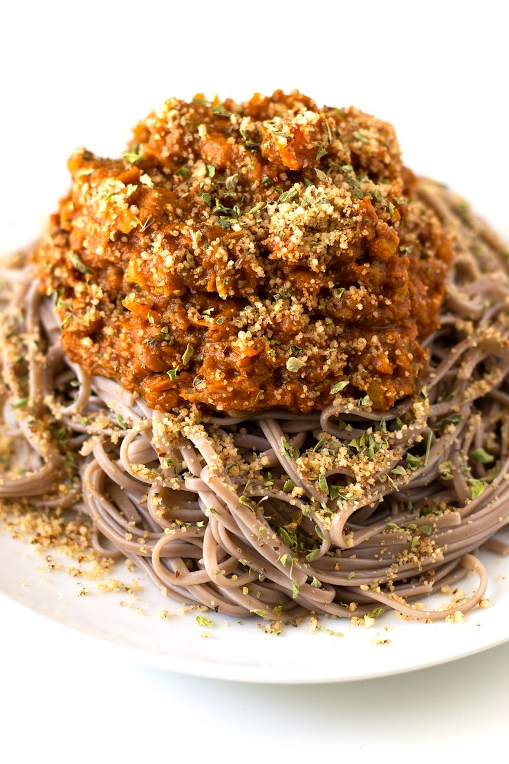 Blue apron bolognese - Best Bolognese Pasta Ever I Used Soba Noodles Which Are Made With Buckwheat Flour