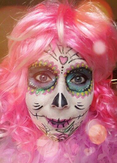 Facepaint schmink skull 2016