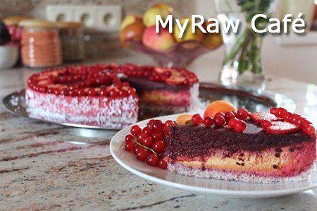 Vitariánský RAinboW CHEESECAKE podle MyRaw Café (raw food) :: Syrová strava