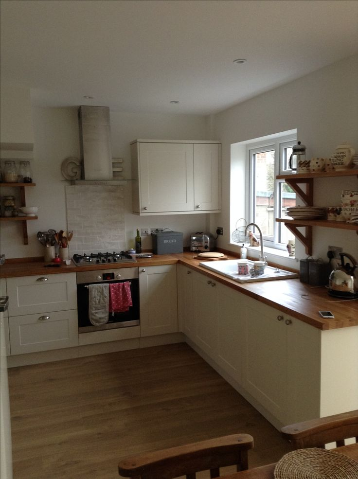 Howdens burford Ivory kitchen