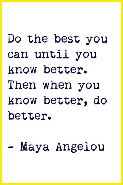 Do better.