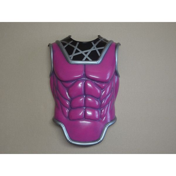 Marvel X-MEN Gambit Breastplate Chest Torso Cosplay Costume (£185) ❤ liked on Polyvore featuring men's fashion, men's clothing and men's costumes
