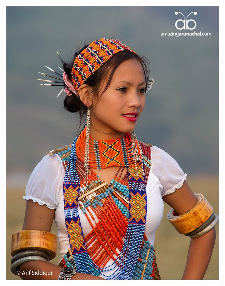 India | Portraits of young women from Longding District, Arunachal Pradesh | © Arif Siddiqui