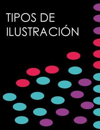 """Cover of """"Tipos de ilustracion"""""""