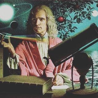"""Os que parabenizam Isaac Newton de forma irônica esquecem (ou desconhecem) que o mesmo era cristão teólogo escritor de várias literaturas cristãs e fez algumas afirmações como as abaixo: """"A gravidade explica os movimentos dos planetas mas não pode explicar quem colocou os planetas em movimento. Deus governa todas as coisas e sabe tudo que é ou que pode ser feito."""" """"Posso pegar meu telescópio e ver milhões de quilômetros de distância no espaço; mas também posso pôr meu telescópio de lado ir…"""