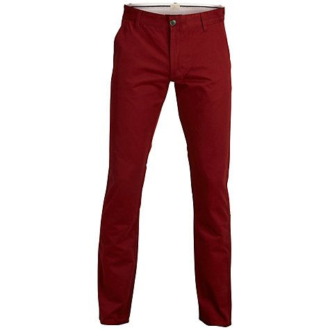 Buy Selected Homme Three Paris Straight Chinos Online at johnlewis.com