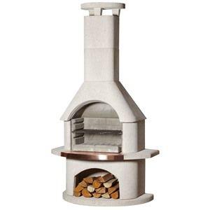 Buschbeck Venezia Masonry BBQ Fireplace