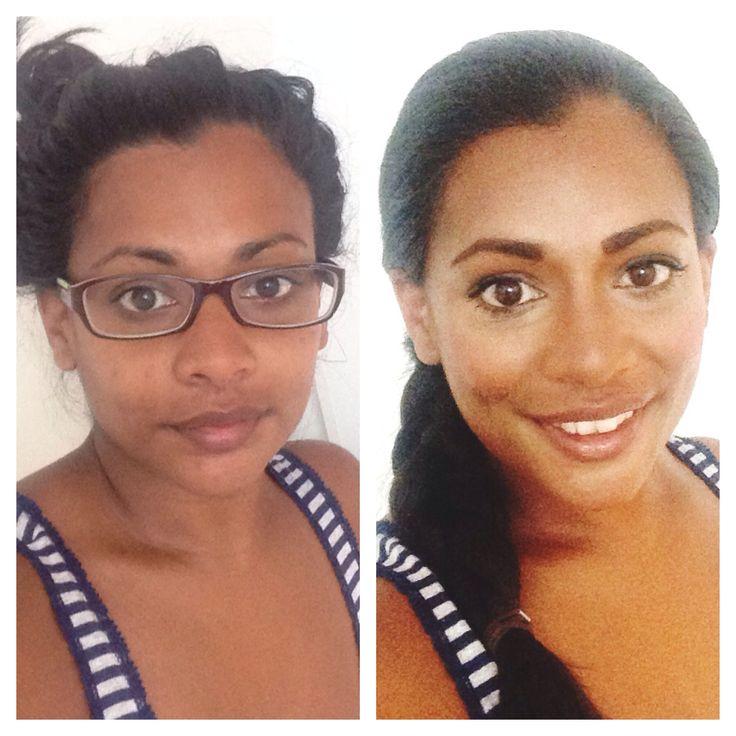No makeup with makeup