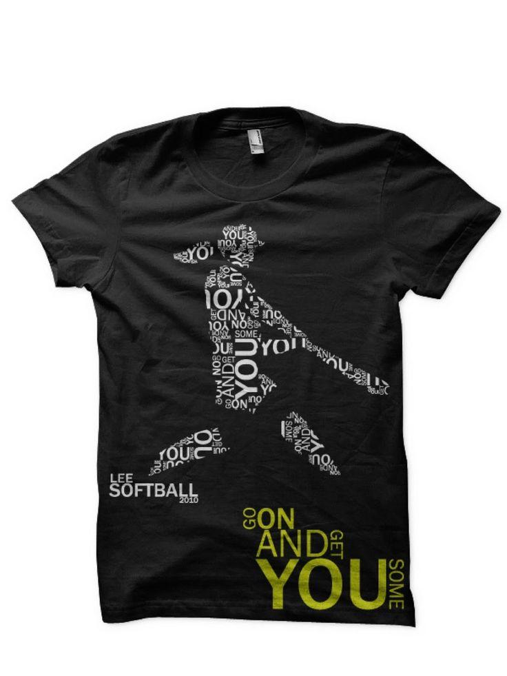 softball shirt design