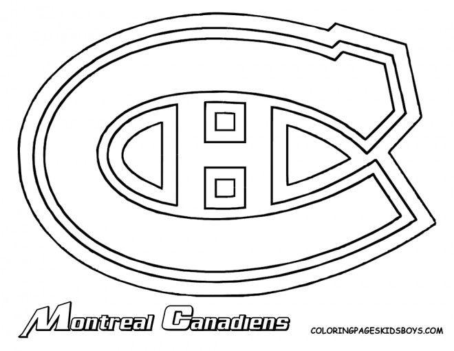 Coloriage Eacute Quipe De Hockey Montreal Canadiens Et Dessin Gratuit A Imprimer Dessine Les Coloriages Eacute Qui Hockey Montreal Montreal Canadiens Hockey
