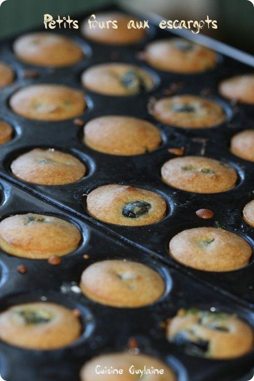 ^^Petits fours aux escargots^^ | Cuisine-Guylaine
