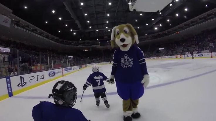 Whats it like for a 6 Year old to skate at the Ricoh Center 08 Markham W...