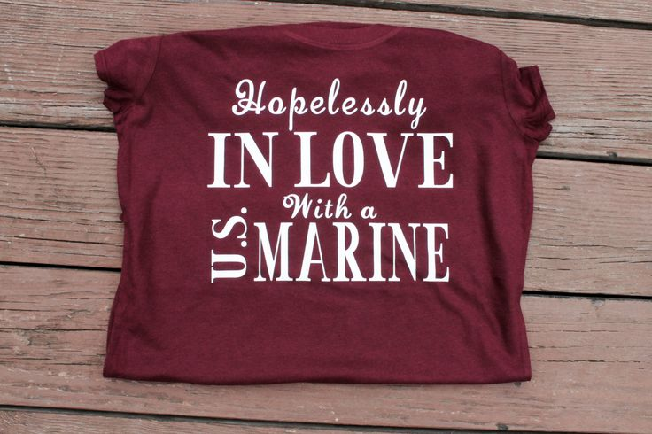 Hopelessly in love with a U.S. Marine by AmyJaneBeauty on Etsy More