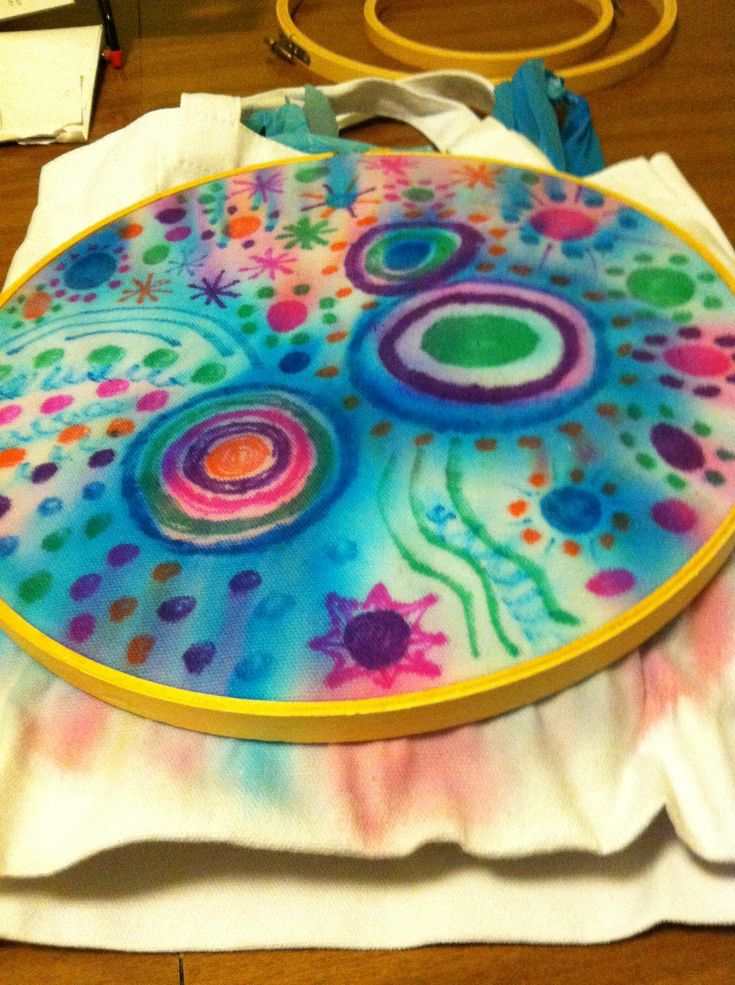 How to Make Tie Dye With Sharpies