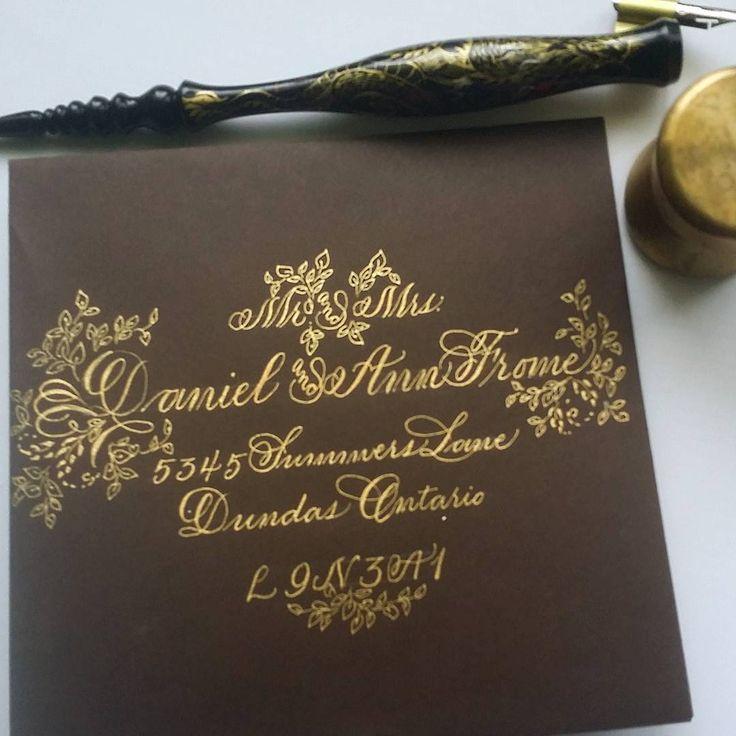 197 отметок «Нравится», 16 комментариев — F Phyllis Macaluso (@fpmmac) в Instagram: «#handlettering #handwriting #copperplate #calligraphy #creative #create #envelopeart…»