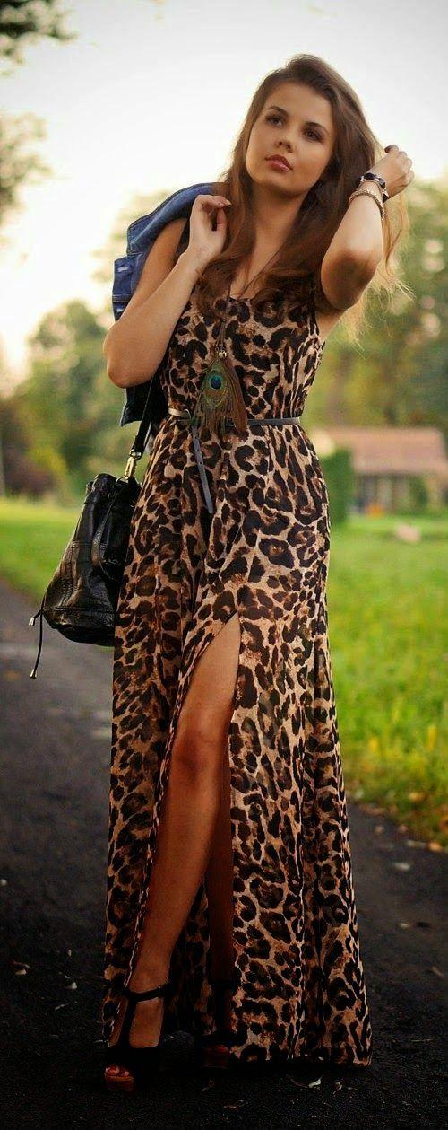 Cheetah b long dresses under 20