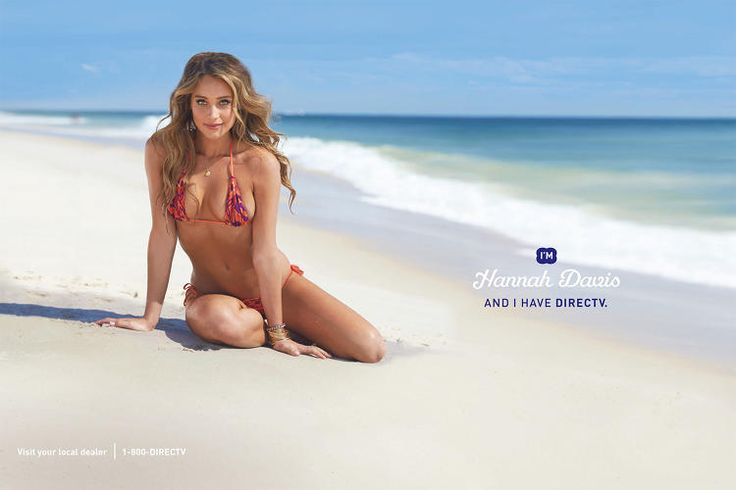 Sports Illustrated Swimsuit Models Hannah Davis, Chrissy Teigen And Nina Agdal Get Extreme DirecTV Makeovers
