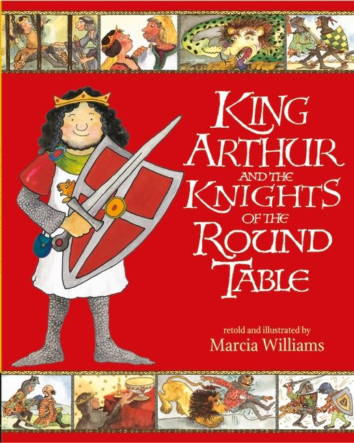 A graphic retelling of the legend of King Arthur and the knights of the round table. call number: WIL location: Graphic Novels