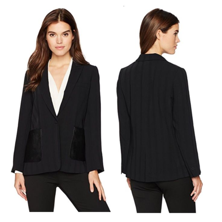 you can be the most stylish woman of private invitations with black and elegant look... #blazer #kennethcole #womenstyle #women #fashion