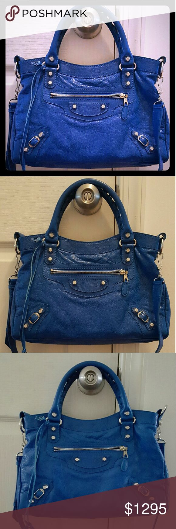 Balenciaga town bag Authentic with tags, card, leather tag, mirror Balenciaga Bags Satchels
