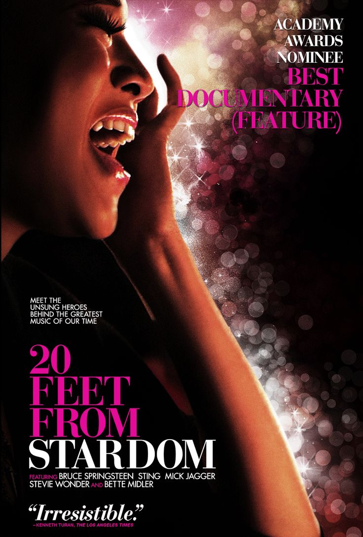 20 Feet From Stardom - Documentary about background singers