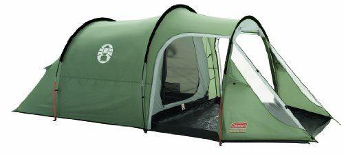 Coleman Coastline 3 Plus Three Person Tent - Green/Grey…