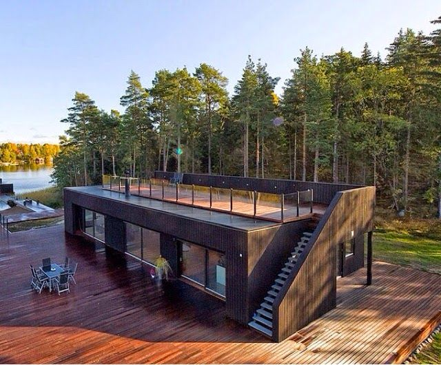 СК ПРОРАБ: Дом из морских контейнеров