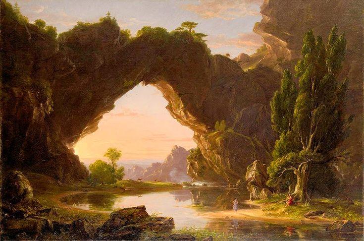 Johan christian dahl romantic painter landscape