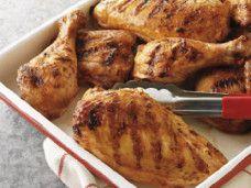Kuře na česneku s rozmarýnem a citrónem