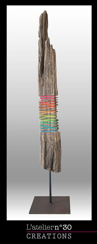 Driftwood Sculptures by Anna Foucher L'Atelier n°30 | TOTEMS