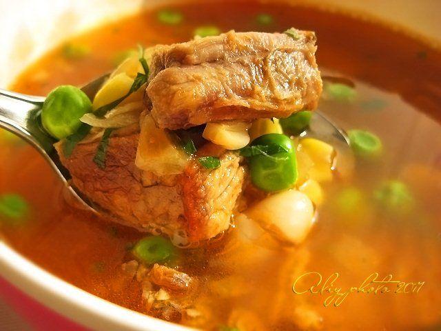 218. Фасолевый суп по-балкански
