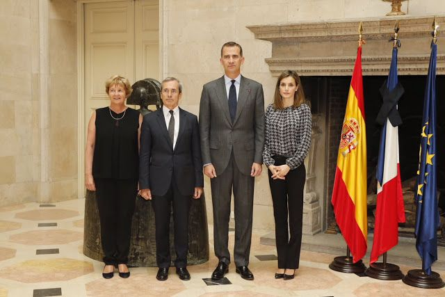 Royals & Fashion: Visite à l'ambassade de France, Madrid