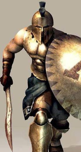 The Battle of Thermopylae: 300 Spartans versus 10,000 Persians. You can guess who won in the end -- but, my, did they have a rough time of it!