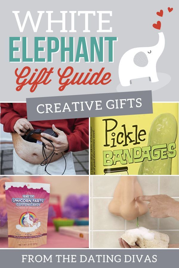 50 Fun White Elephant Gift Ideas For 2018 The Dating Divas White Elephant Gifts Funny Elephant Gifts White Elephant Gifts