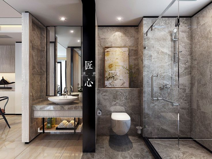 Small bathroom with classic theme