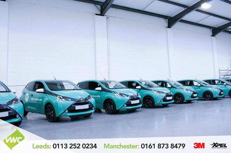 We have recently completed a fleet of 10 vehicles at our Manchester centre for Miller Metcalf in a digitally printed wrap on their smart Toyota Aygo's. #Toyota #Aygo #toyotaaygo #Commercial #3m #3mPrint #PrintedVinyl #wrapping #vinylwraps #vehiclewraps #vinyl #printwraps #digitalprint #leeds #manchester #thevehiclewrappingcentre #vwc #CarWraps #CommercialWraps #design #livery #artwork #bespoke #branding #layednotsprayed 3MWrapsUK 3M Graphics