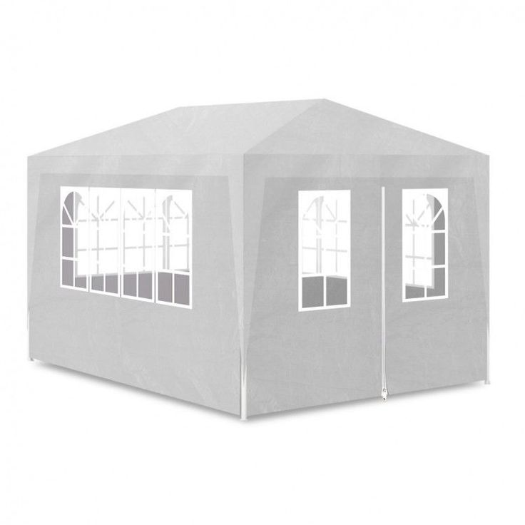 Outdoor Pop Up Gazebo large Tent Party Garden camping festival Waterproof White