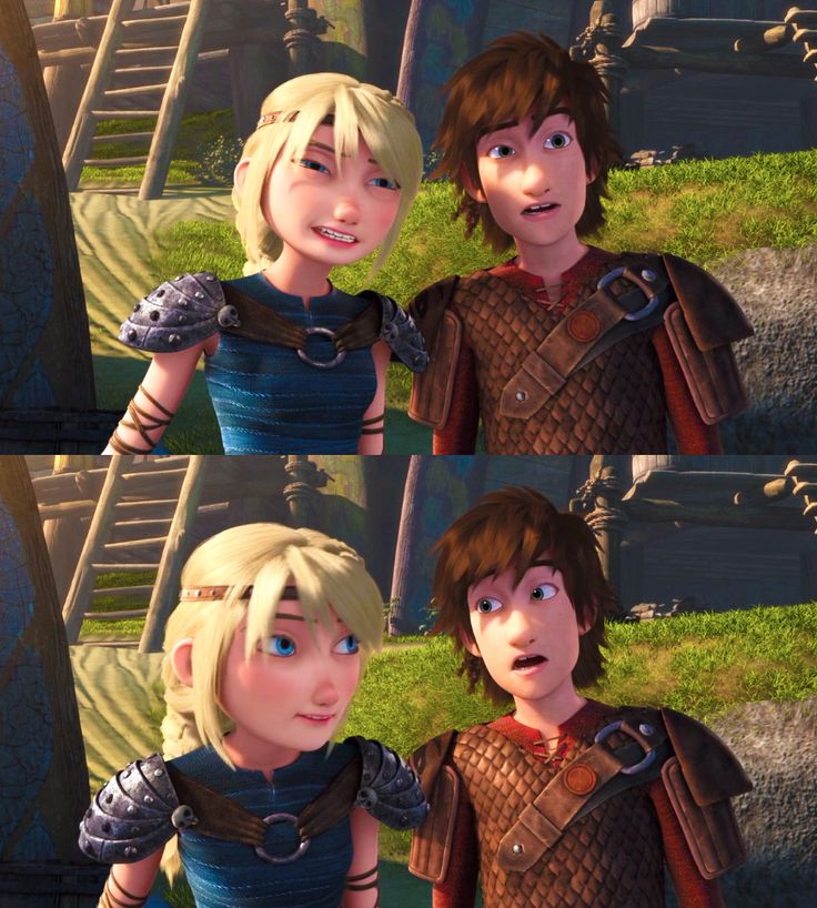 I love how in RTTE, Astrid is so much more happier, lighter, and mellowed out. And more funnier. THANKS HICCUP!!! XD