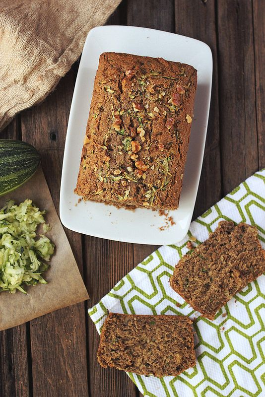 gluten-free spiced zucchini bread, via tasty yummies