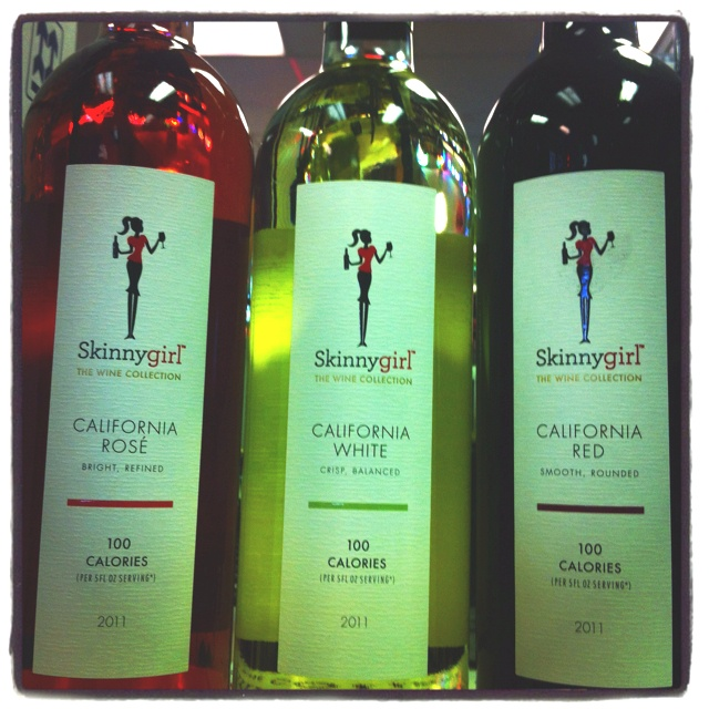New skinny girl wines 100 calories per serving. Red,white, and rose