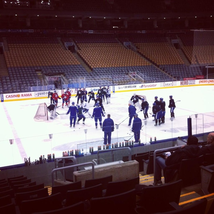 Leafs practice Tuesday March 5