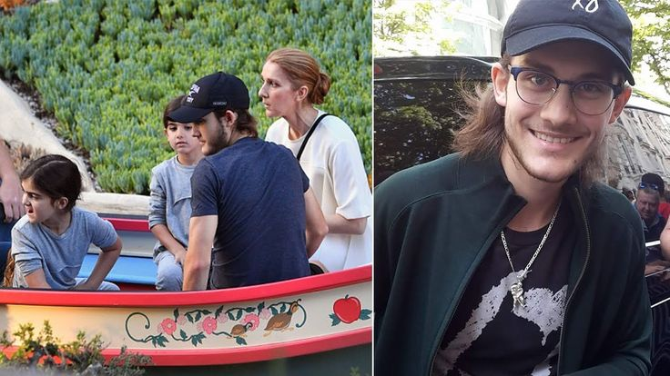 Celine Dion's Sons 2017 [Rene Charles Angelil, Eddy Angelil & Nelson Ang...