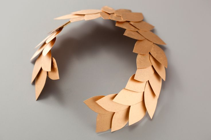 laurel leaf crown template - channel your inner olympian with our diy laurel head