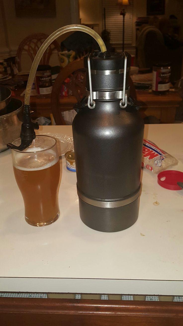 Fantastic Drink Tank Growler with Keg Tap!