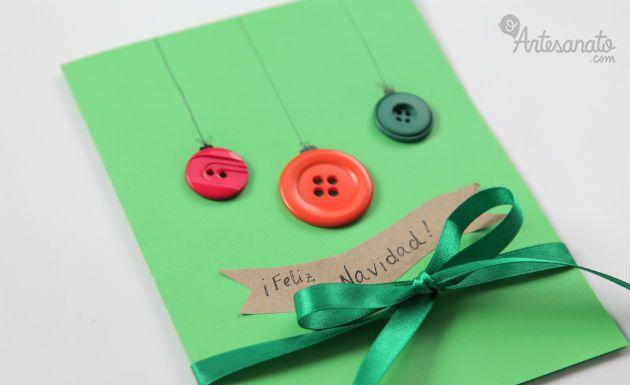 Como fazer cartão de Natal diferente