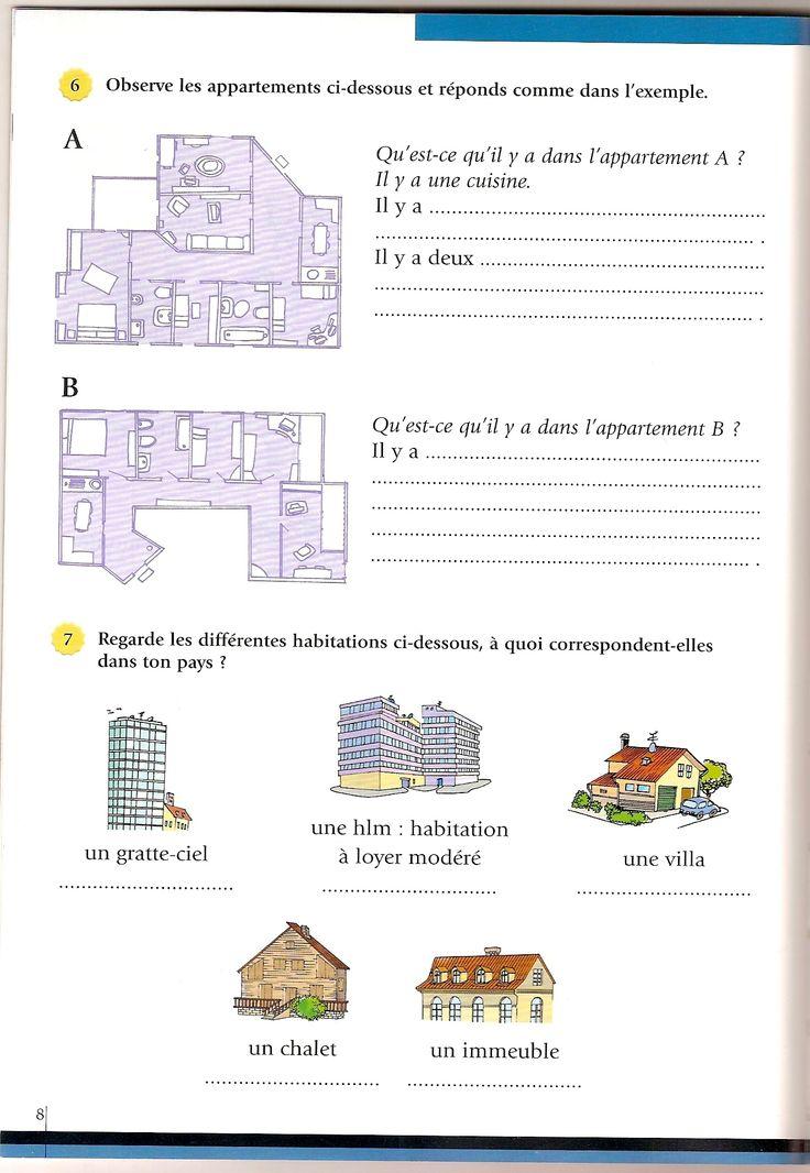 207 best fle lexique de la maison images on pinterest fle french lessons and spanish classroom. Black Bedroom Furniture Sets. Home Design Ideas