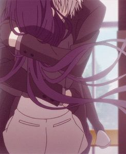 Anime couple <3 GIF
