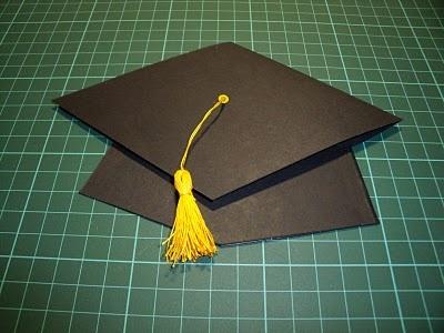 Rincon de Rilla Tarjeta con gorro de graduación