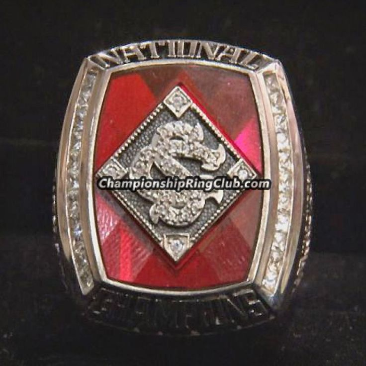 2010 South Carolina Gamecocks Baseball National Championship Ring - ChampionshipRingClub.com